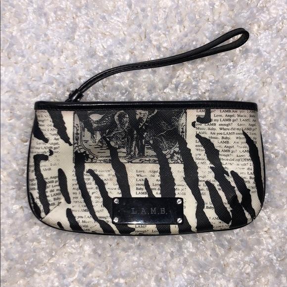 """L.A.M.B. Handbags - L.A.M.B """"Mandalay"""" Newspaper Wristlet"""